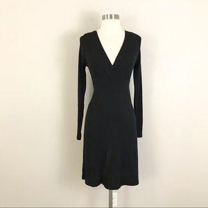 Michael Stars one size Original Midi Dress Black